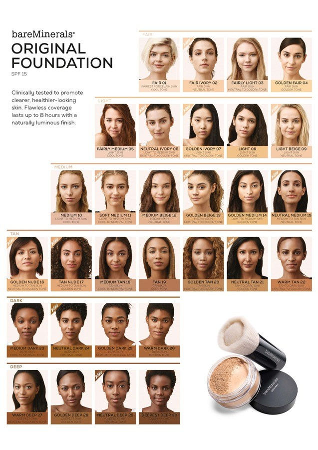 BareMinerals ORIGINAL SPF 15 Foundation 8 g Warm Deep