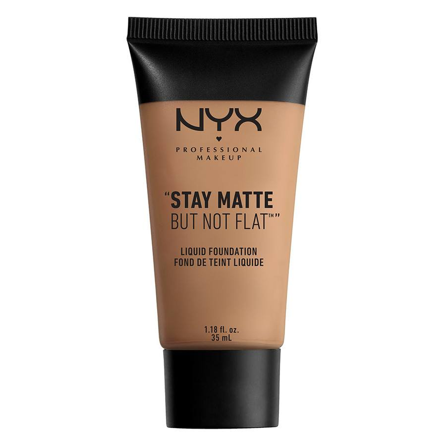NYX Prof. Makeup Stay Matte But Not Flat Liquid Foundation Nutmeg 35 SMF14