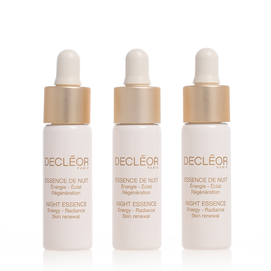 Decléor Night Essence Energy Radiance Skin Renewal 3 x 7 ml