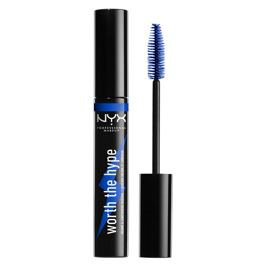 NYX Professional Makeup Worth The Hype Color Mascara Blue 7g