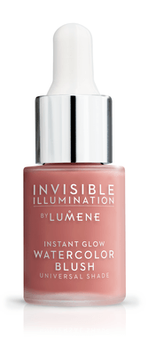 Lumene Invisible Illumination Instant Glow Watercolor Blush Coral Bloom 15ml