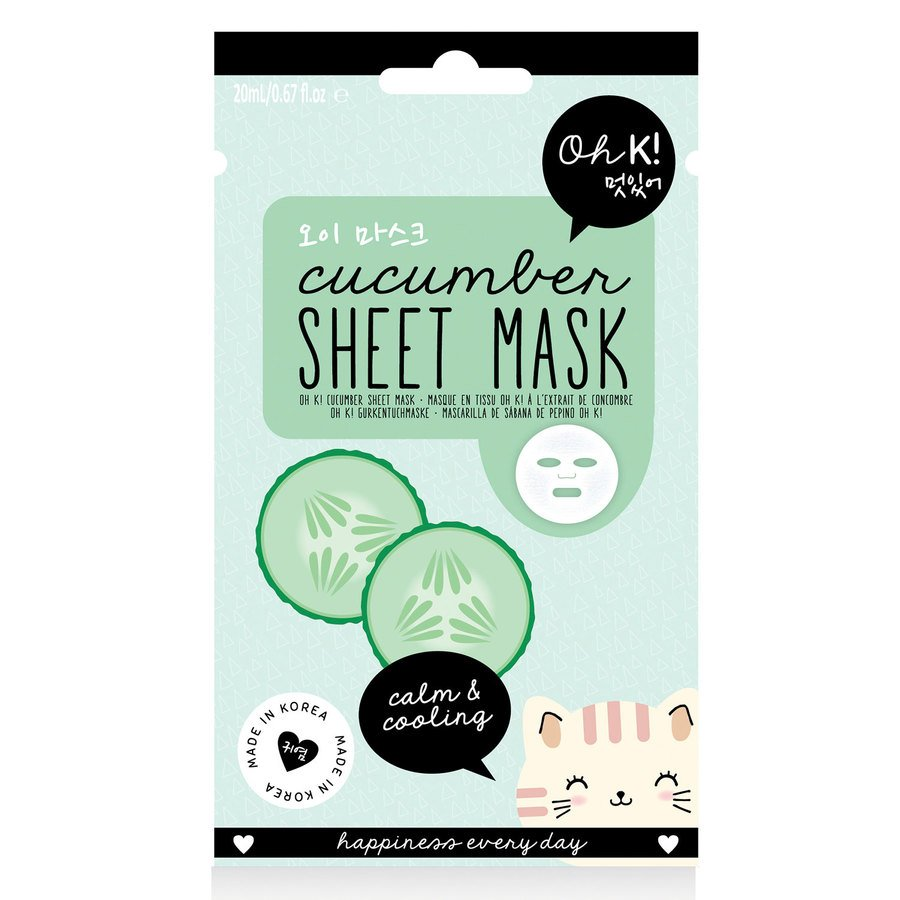 Oh K! Cucumber Sheet Mask 20ml