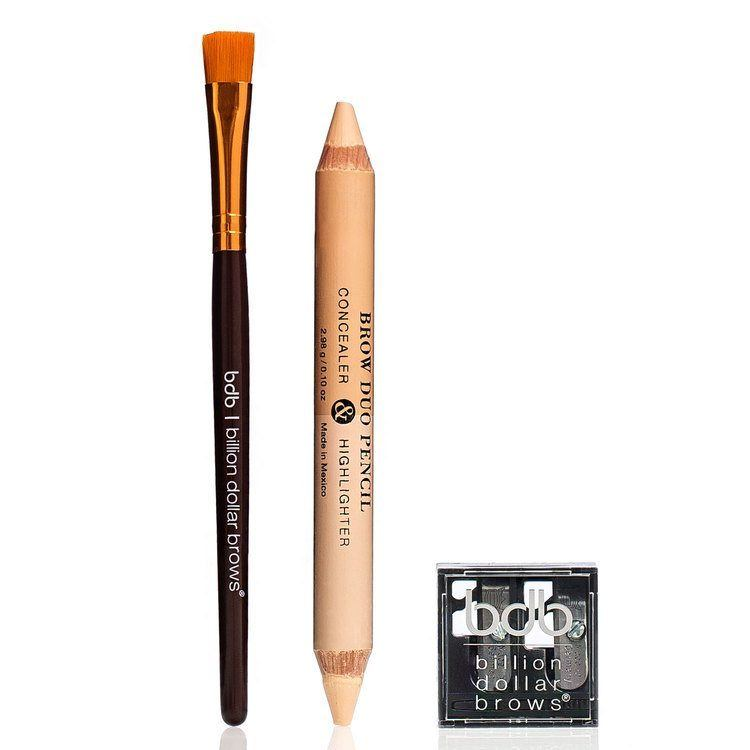 Billion Dollar Brows 60 Seconds To Beautiful Brows Kit i 3 delar