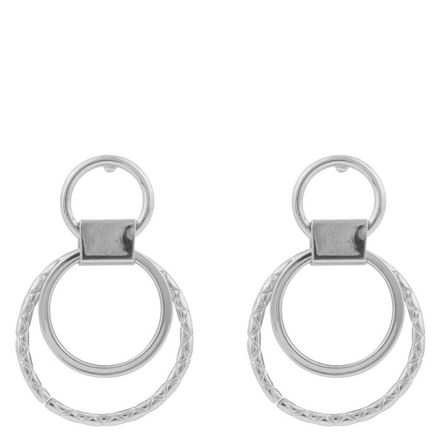 Snö of Sweden Capella Small Round Earring Silver