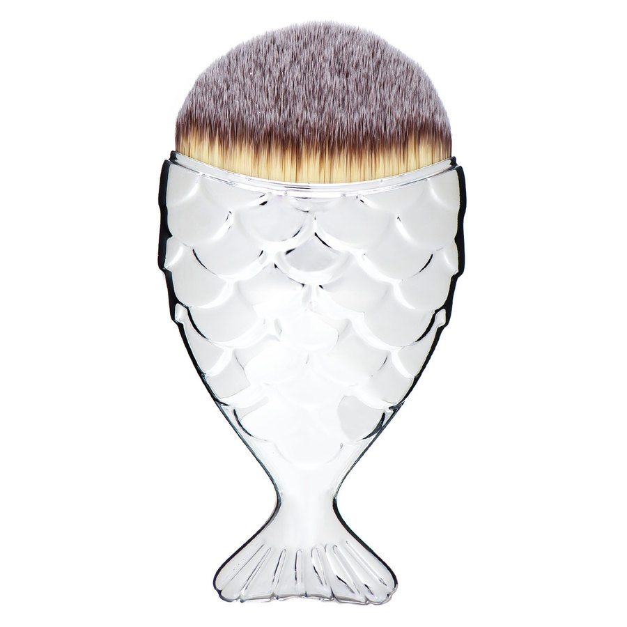 Mermaid Salon The Original Chubby Mermaid Brush Silver