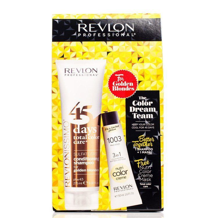 Revlon The Color Dream Team Golden Blondes 2 delar