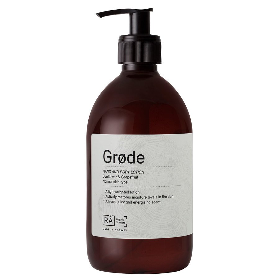 RÅ Organic Skincare Grøde Hand And Body Lotion 500ml