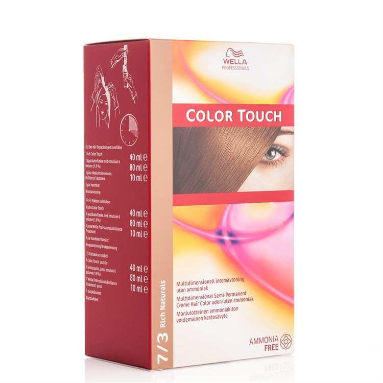 Wella Professionals Color Touch CT OTC 100 ml 7/3 Rich Naturals SKAN