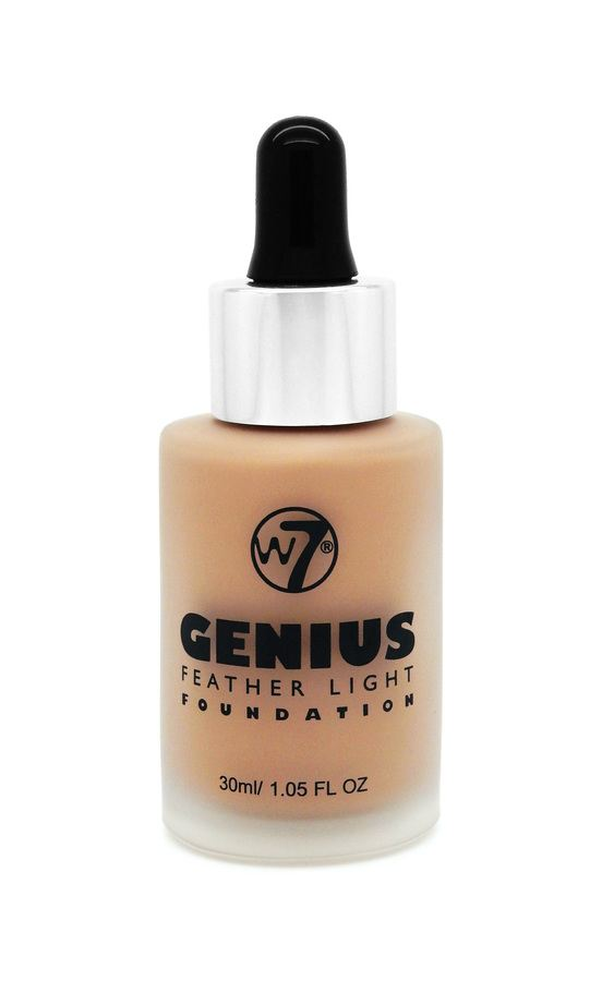 W7 Genius Feather Light Foundation Natural Tan