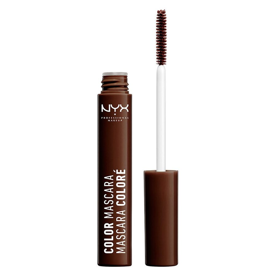 NYX Prof. Makeup Color Mascara Brown
