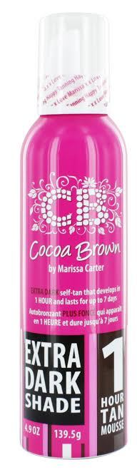 Cocoa Brown by Marissa Carter 1 Hour Tan Mousse Extra Dark Shade 150ml