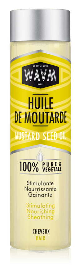 WAAM Cosmetics Mustard Oil 100 ml