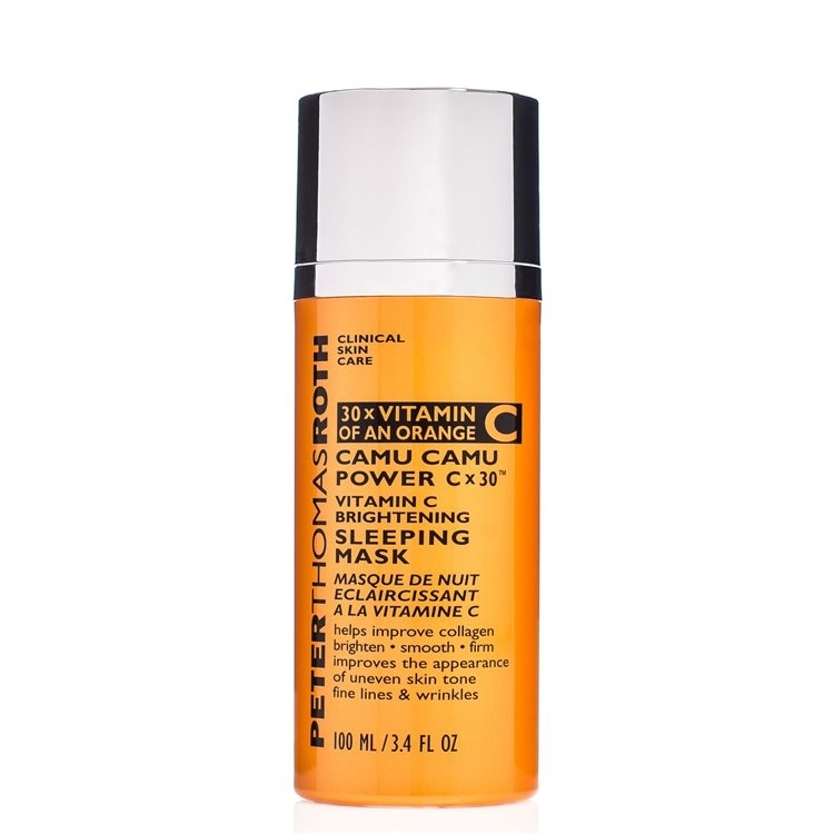 Peter Thomas Roth Camu Camu Power c x 30 Vitamin C Brightening Sleeping Mask 100ml