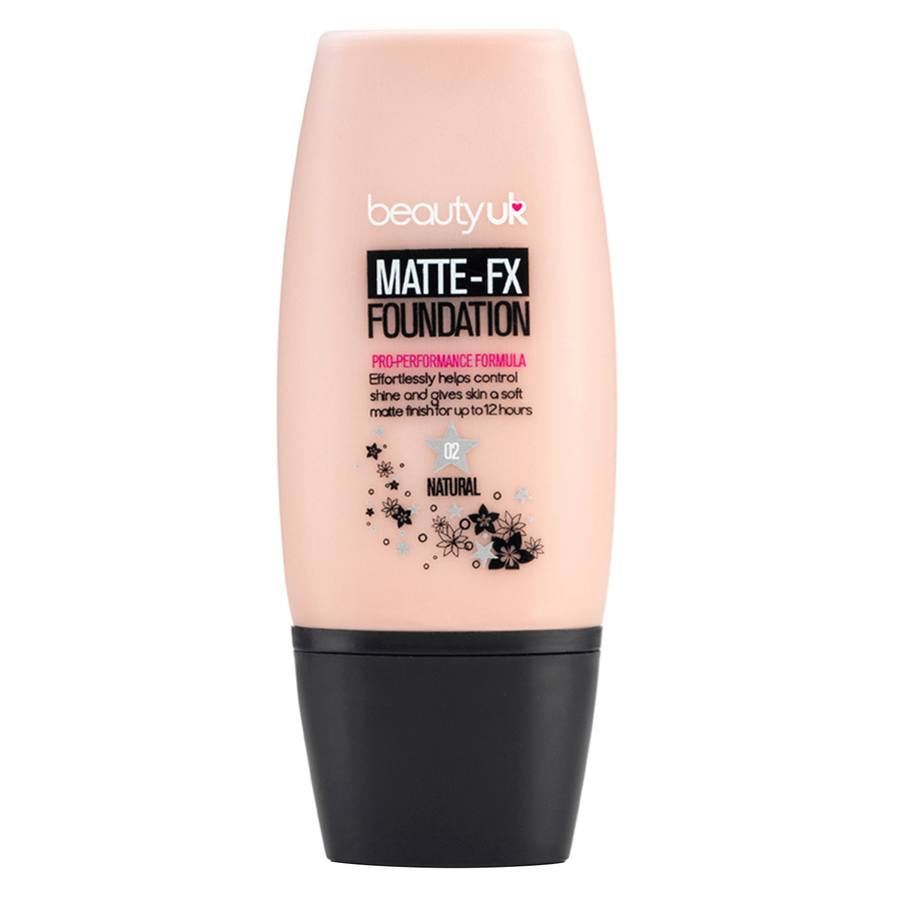 Beauty UK Matte T.EX Foundation-No 2 Natural