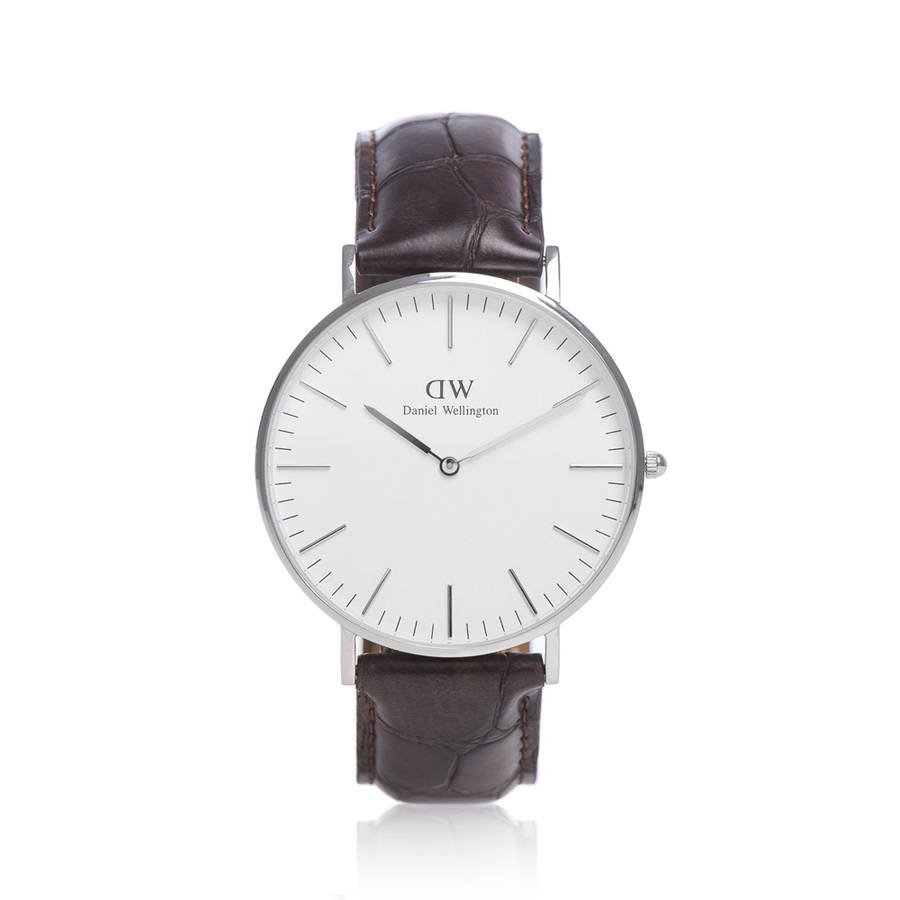 Daniel Wellington York Silver 40 mm