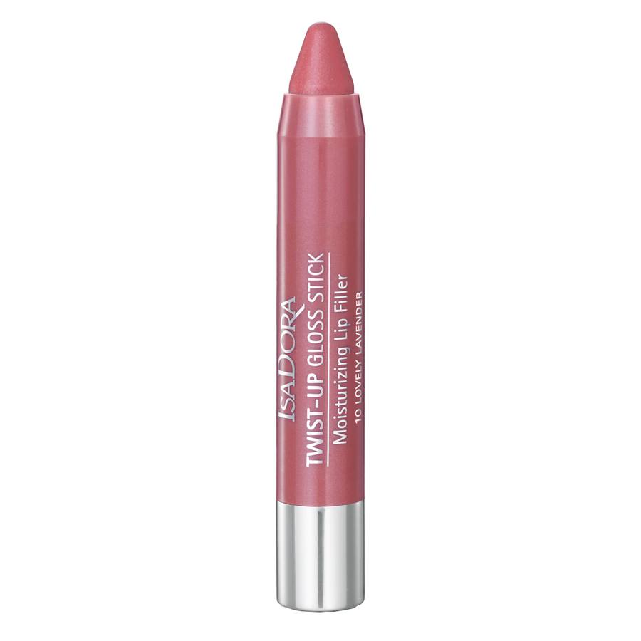 IsaDora Twist-Up Gloss Stick 10 Lovely Lavender 2,7 g