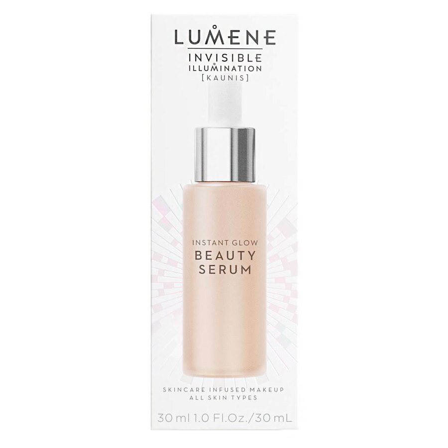Lumene Invisible Illumination Instant Glow Beauty Serum Universal Light 30 ml