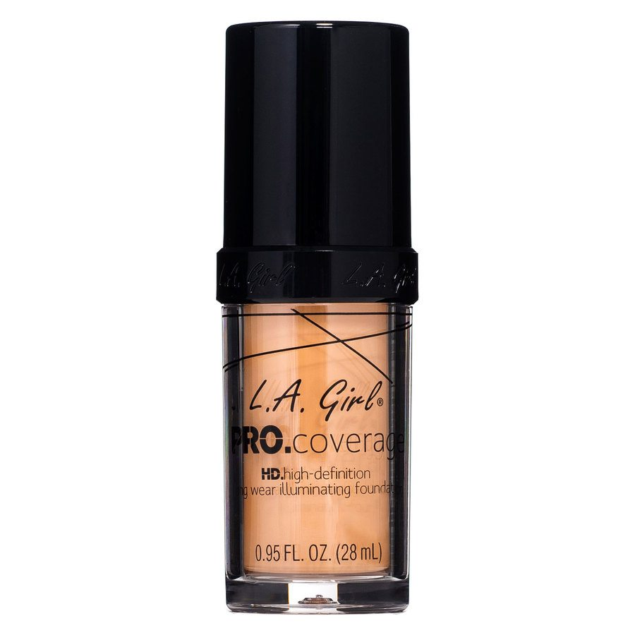 L.A. Girl Pro Coverage Illuminating Foundation GLM648 Soft Honey