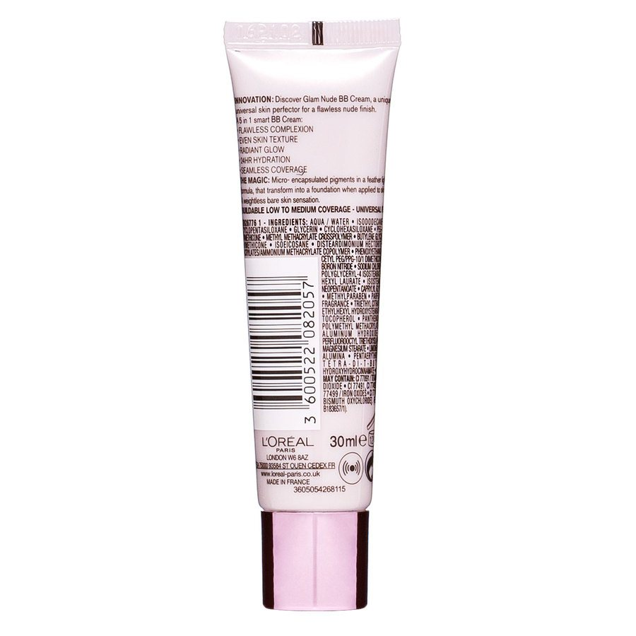 L'Oréal Paris Nude Magique BB Cream Light to Medium Skintone 30 ml