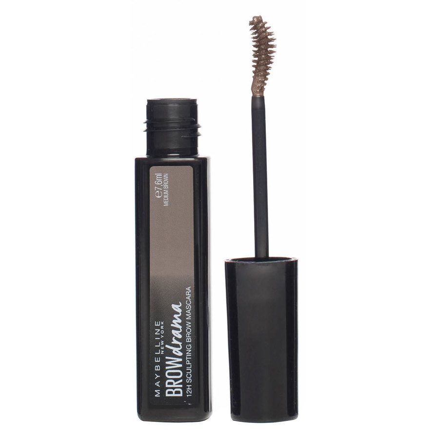 Maybelline Brow Drama Sculpt Brow Mascara Medium Brown