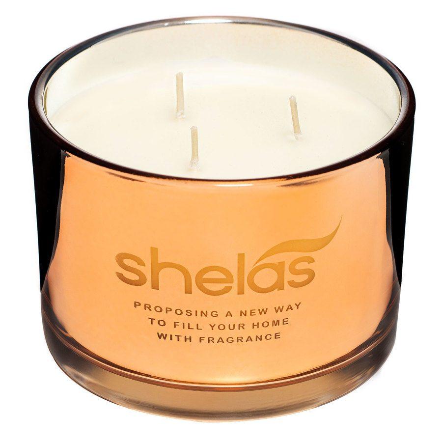 Shelas Scented Candle Spicy Vanilla Large