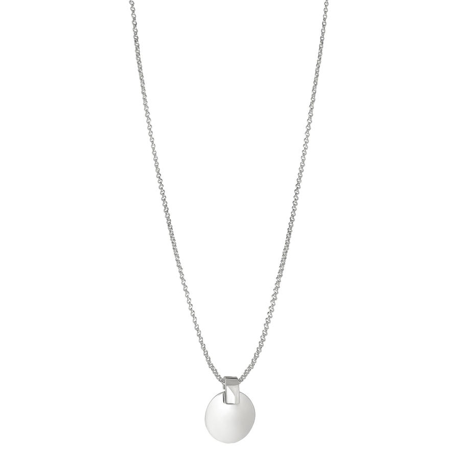Snö of Sweden Carrie Pendant Necklace Plain Silver