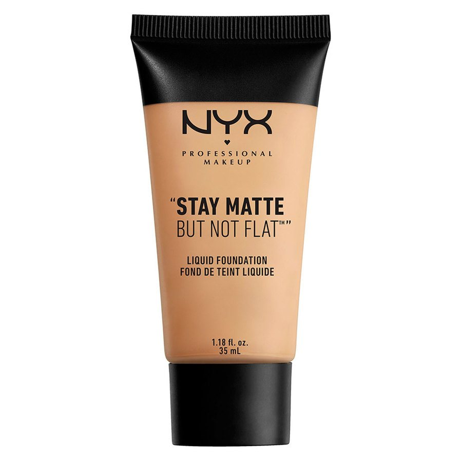 NYX Prof. Makeup Stay Matte But Not Flat Liquid Foundation Naturel 35 ml SMF03