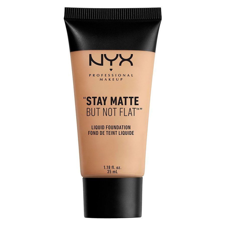 NYX Professional Makeup Stay Matte But Not Flat Liquid Foundation Soft Beige 35 ml SMF05