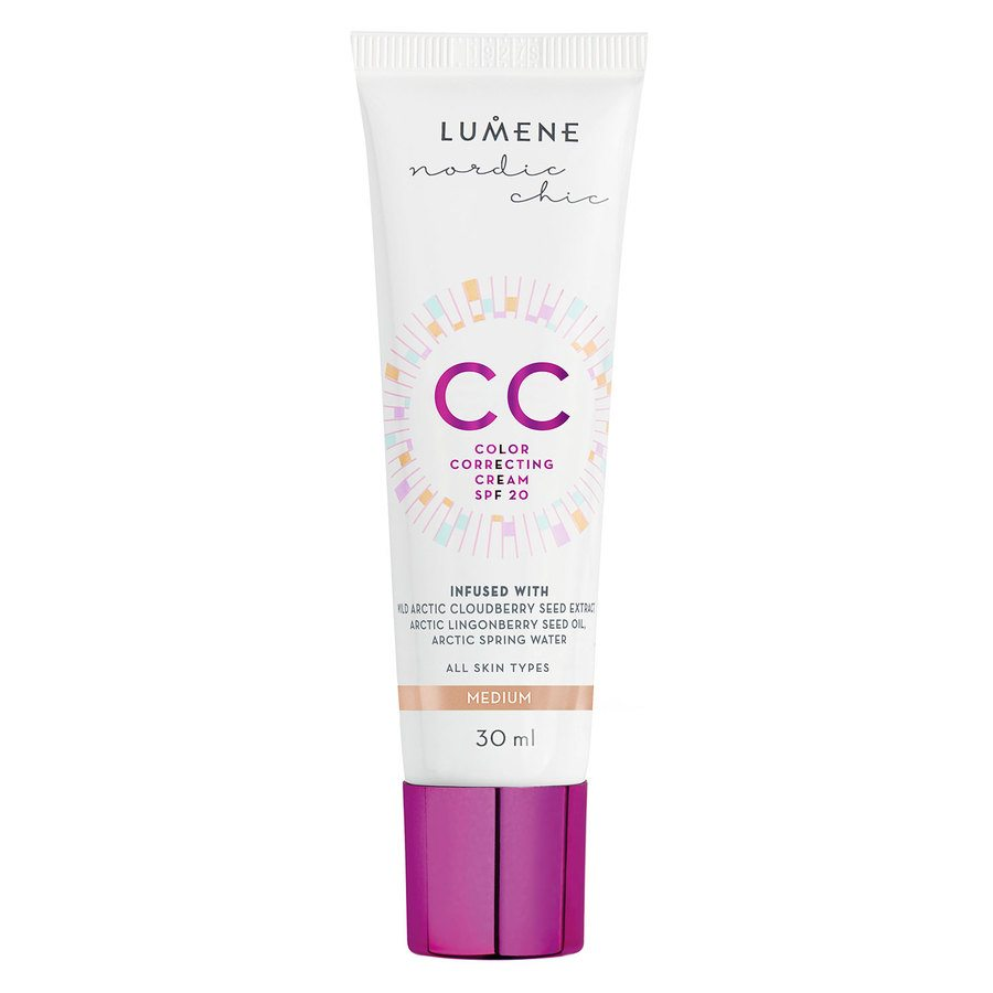 Lumene CC Color Correcting Cream Medium 30ml