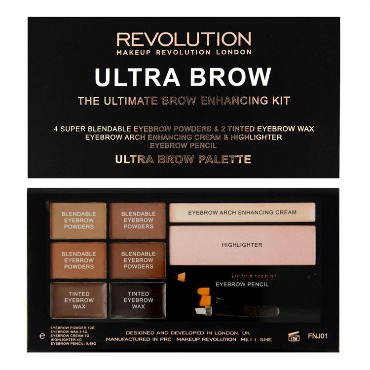 Makeup Revolution Ultra Brow Medium to Dark 19 g