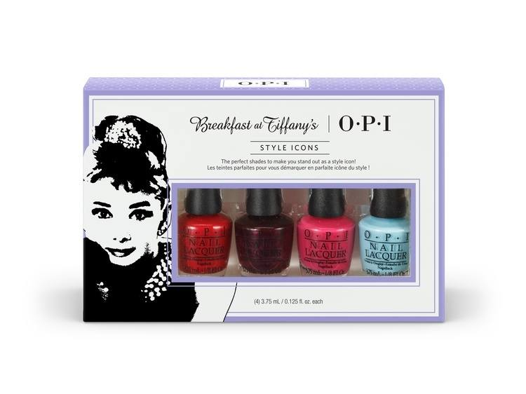 OPI Breakfast At Tiffanys Mini 4-pack HRH25