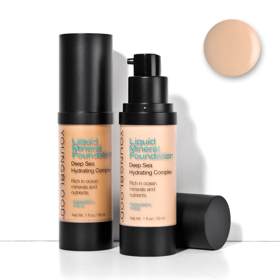 Youngblood Liquid Mineral Foundation Sun Kissed 30 ml