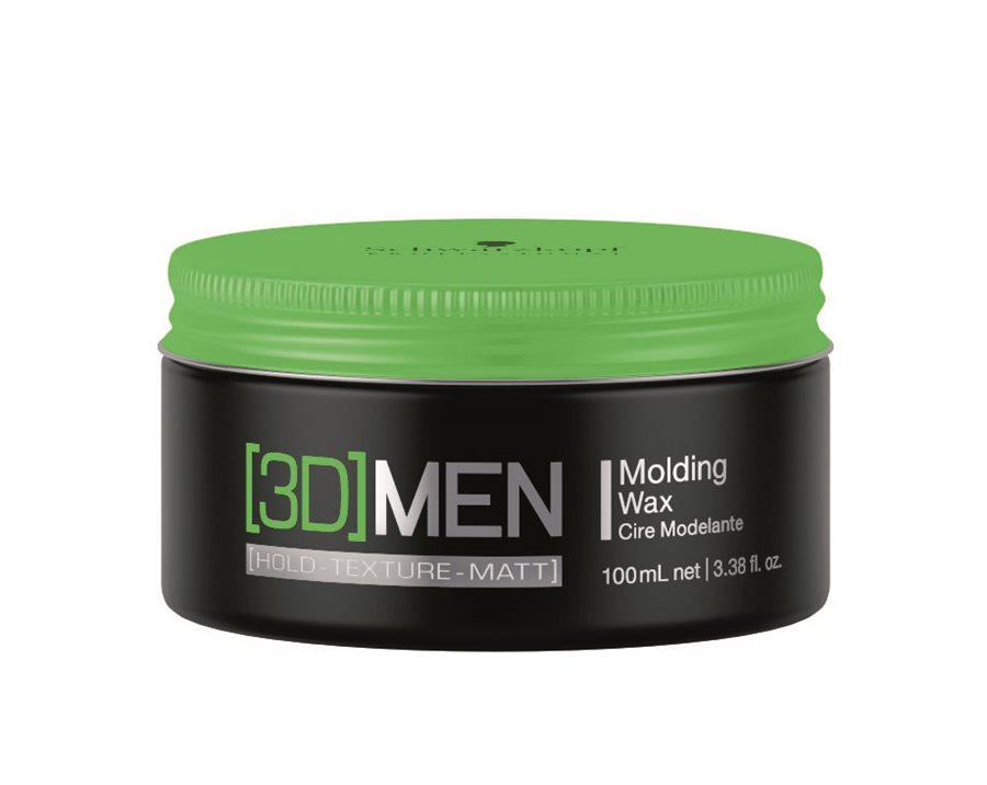 Schwarzkopf 3DMen Medium Hold Wax 100 ml