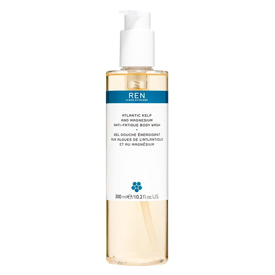 REN Atlantic Kelp and Magnesium Salt Anti-Fatigue Body Wash 300ml