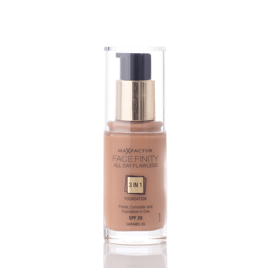 Max Factor Facefinity 3 In 1 Foundation 85 Caramel 30 ml