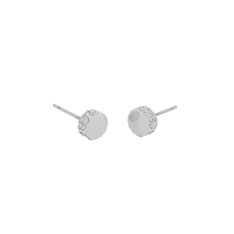 Snö of Sweden Marly Small Earring Silver/Clear