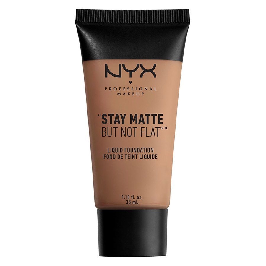 NYX Professional Makeup Stay Matte But Not Flat Liquid Foundation Chestnut 35 ml