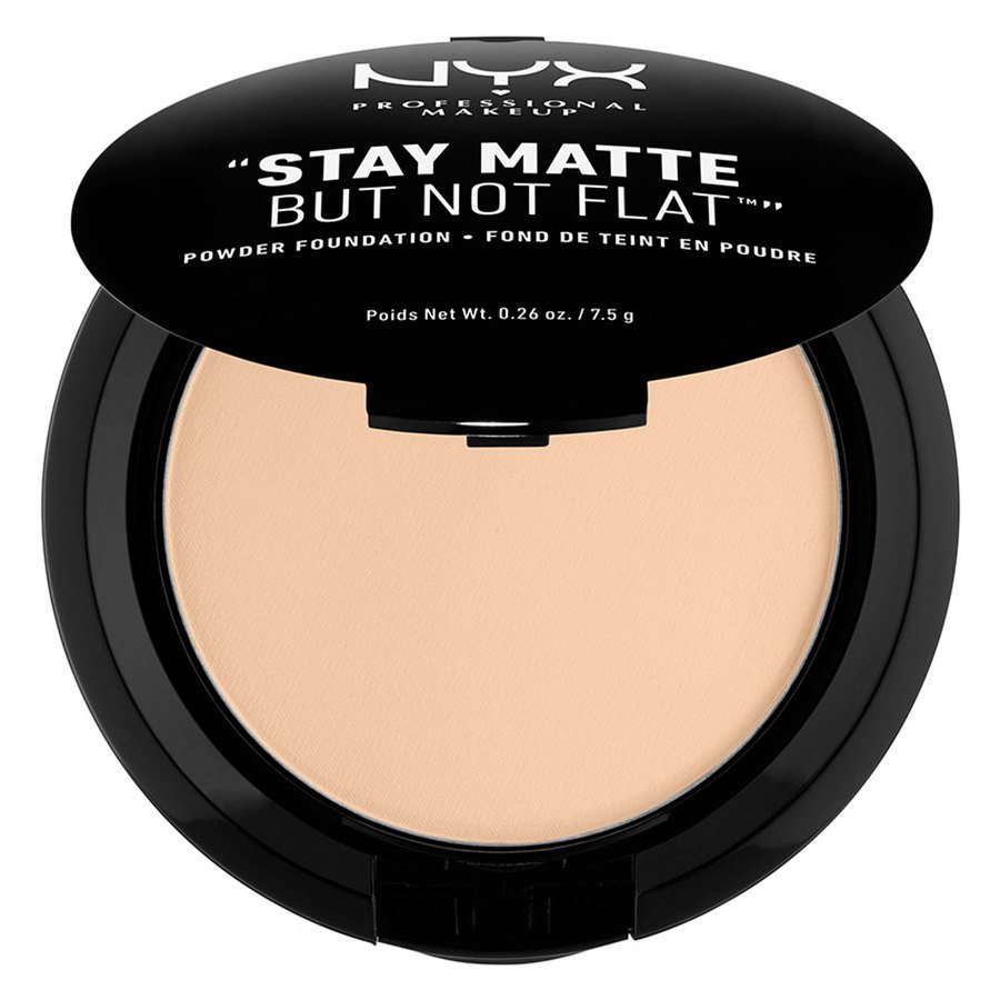 NYX Prof. Makeup Stay Matte But Not Flat Powder Foundation Nude