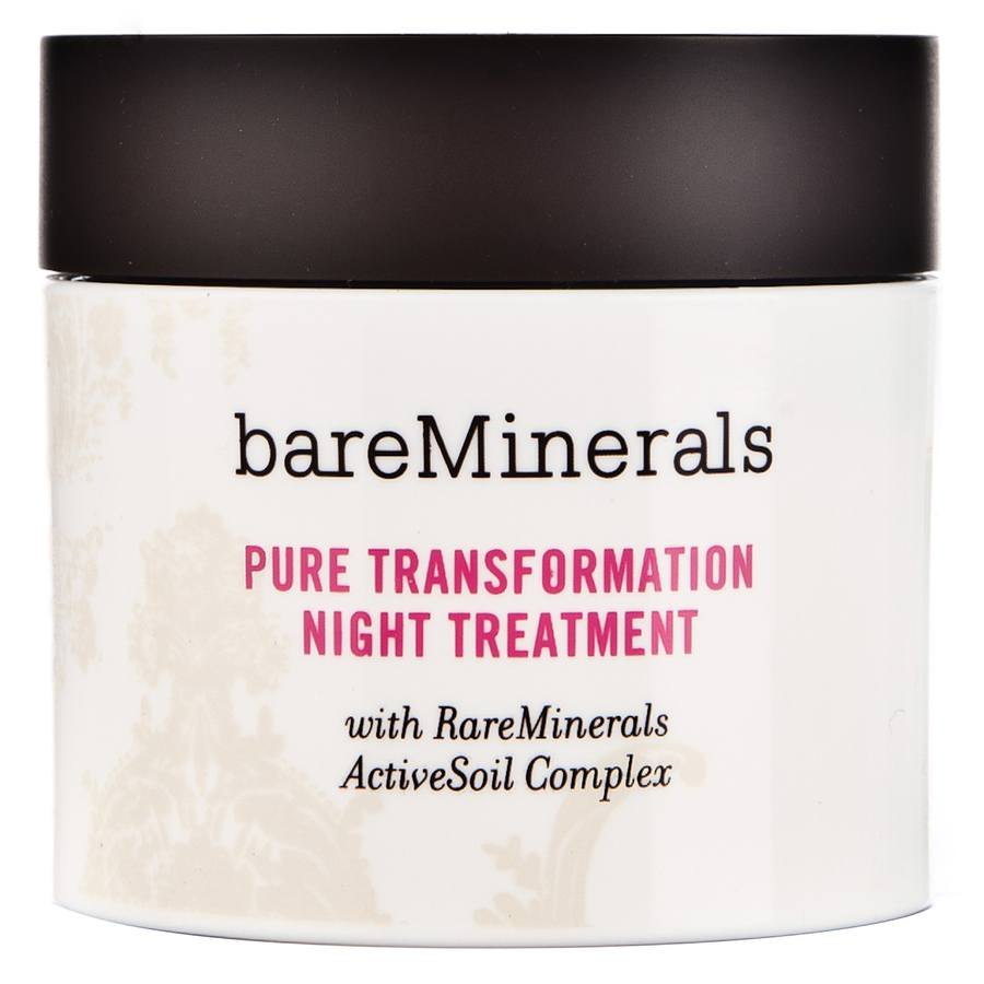 BareMinerals Pure Transformation Night Treatment 4,2 g Clear