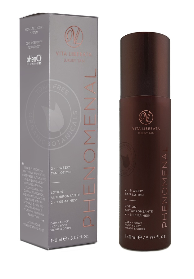 Vita Liberata pHenomenal 2–3 Week Tan Lotion Face & Body Dark 150 ml