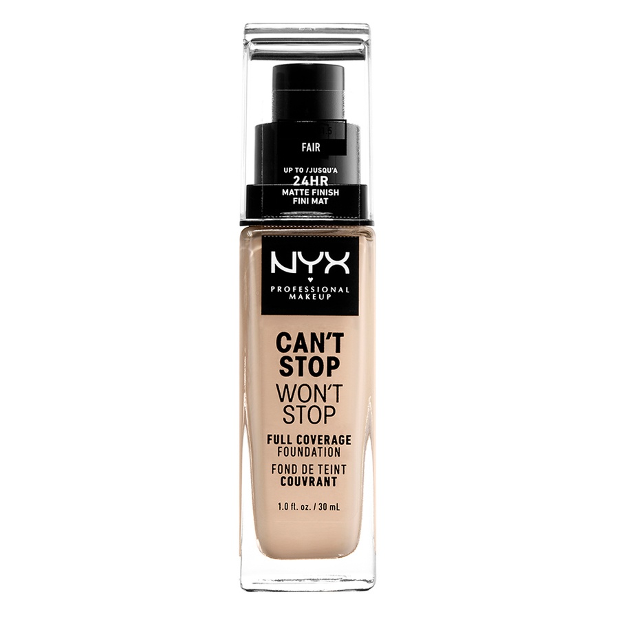 NYX Professional Makeup Can't Stop Won't Stop Full Coverage Foundation Fair 30 ml