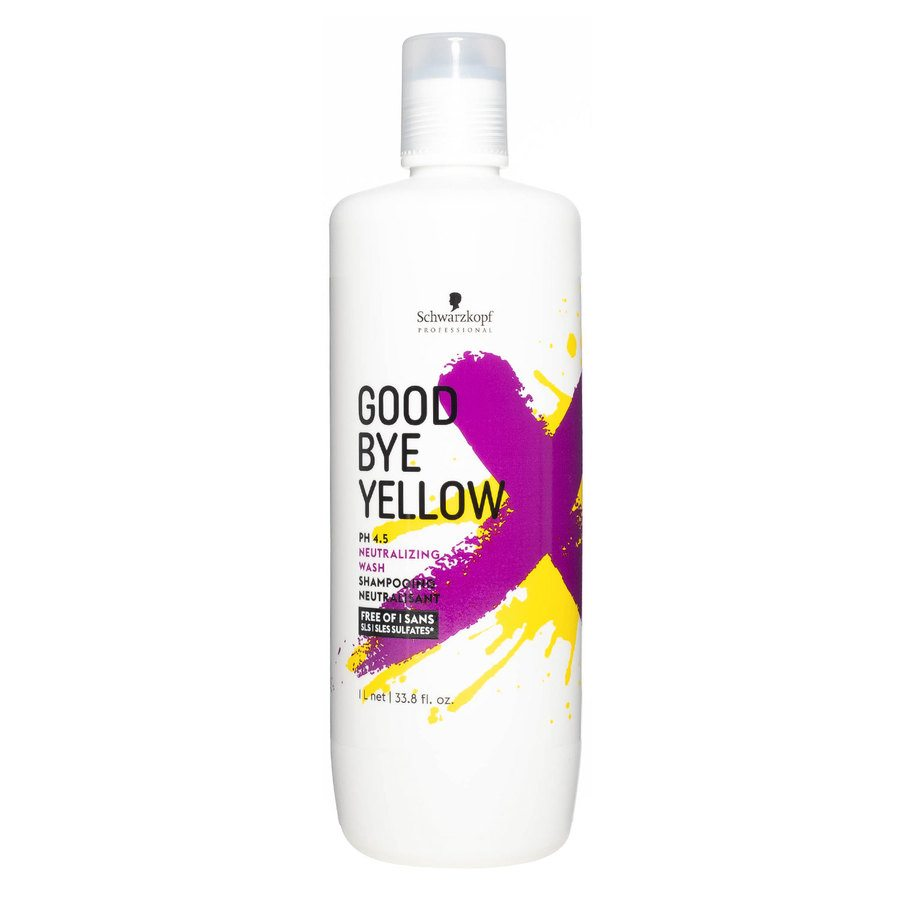 Schwarzkopf Goodbye Yellow Neutralizing Wash Shampoo 1000 ml