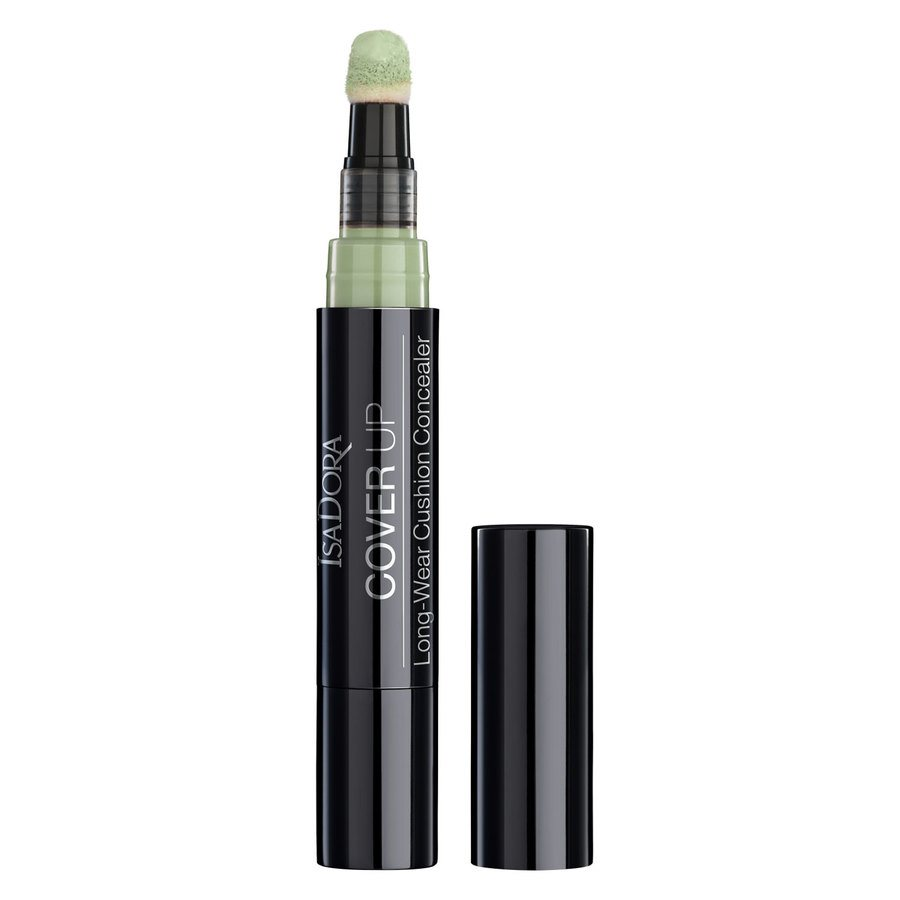 IsaDora Cover Up Long-Wear Cushion Concealer 60 Green Anti-Redness 4,2 ml