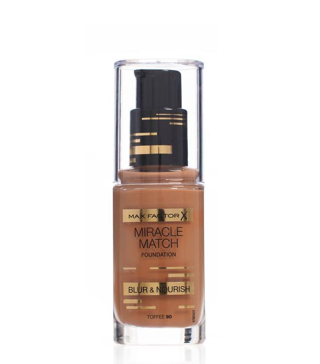 Max Factor Miracle Match Foundation Toffee 90