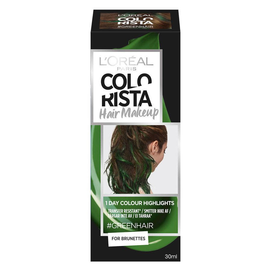 L'Oréal Paris Colorista Hair Makeup 20 Green