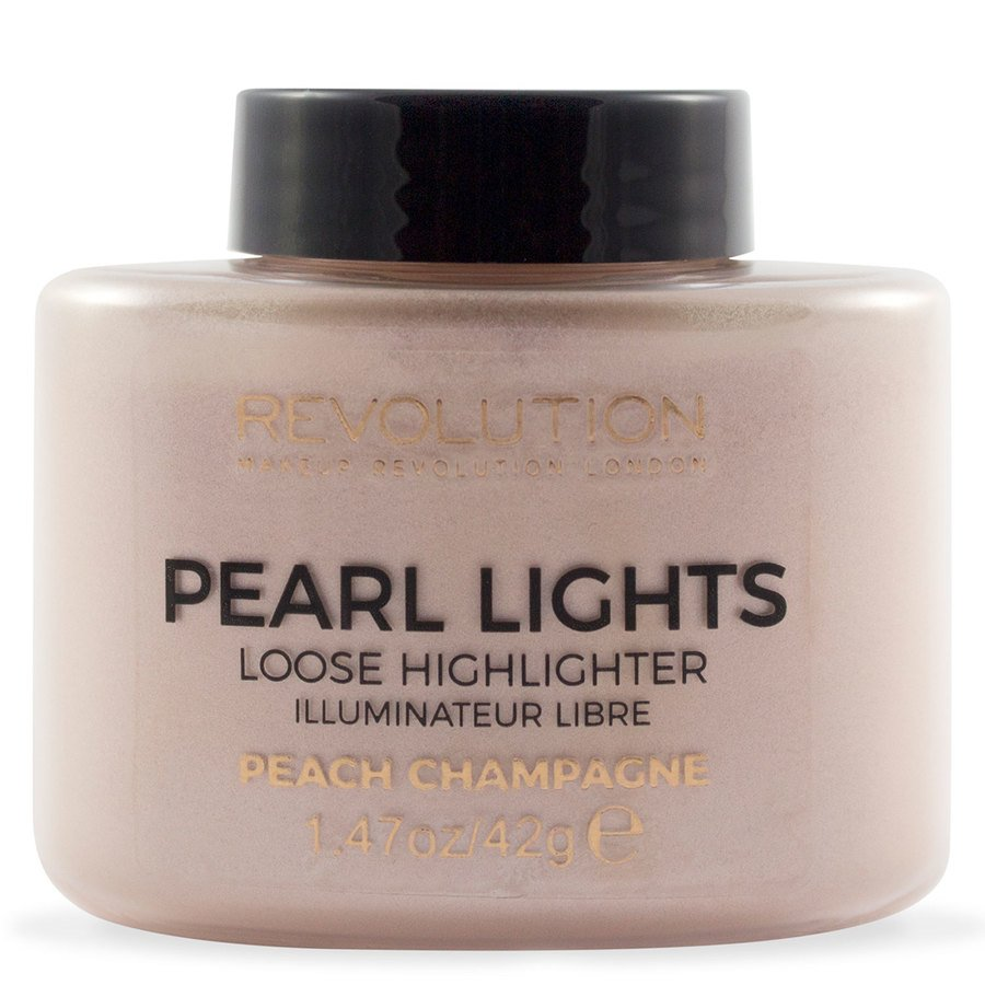 Makeup Revolution Pearl Lights Loose Highlighter Peach Champagne 25 g