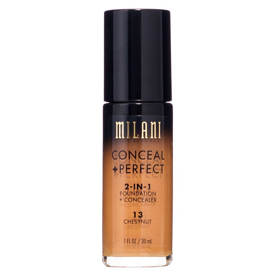 Milani Conceal & Perfect 2 In 1 Foundation + Concealer Chestnut 30 ml