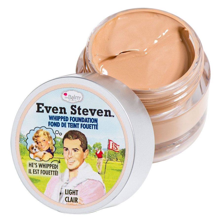 The Balm Even Steven Whipped Foundation Light-Clear 13,4ml