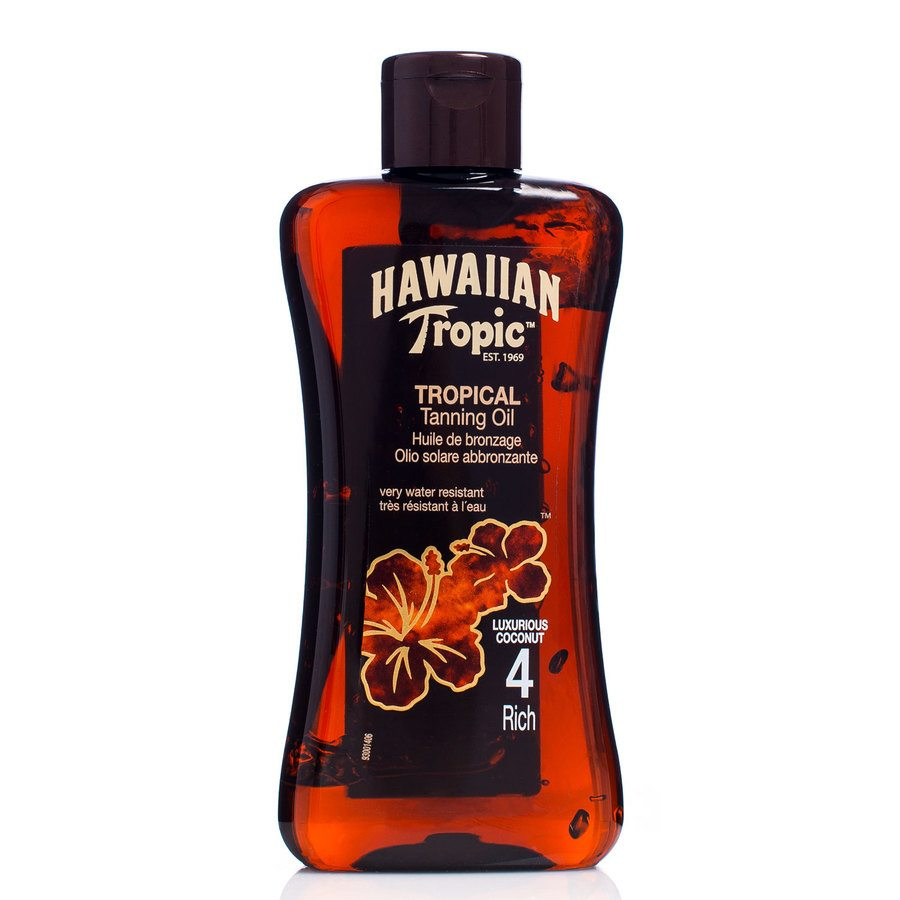 Hawaiian Tropic Tan Oil Rich 200ml