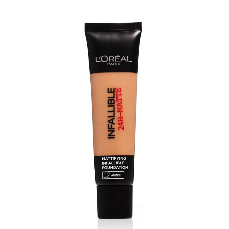 L'Oréal Paris Infallible 24 h Matte Foundation #32 Amber 30 ml